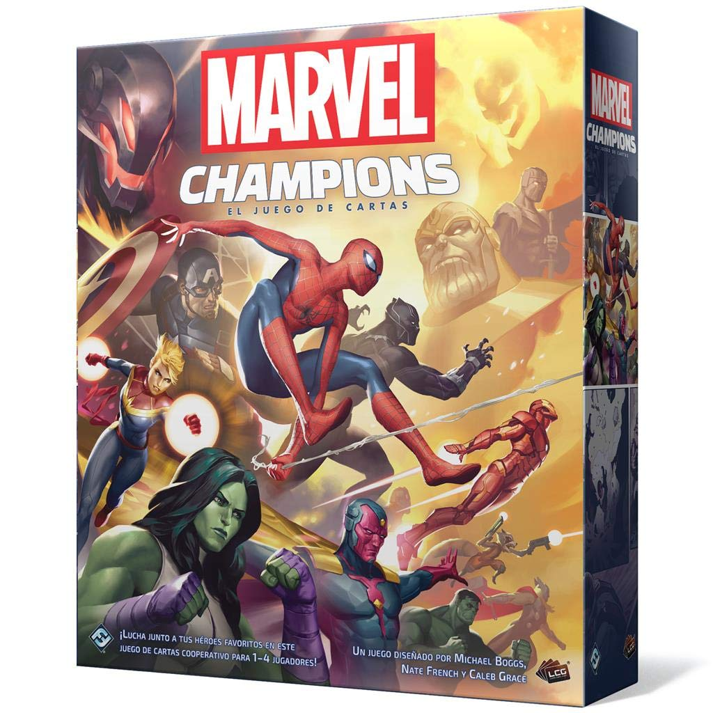 Fantasy Flight Games-Marvel Champions: El juego de cartas, color mc01es , color/modelo surtido