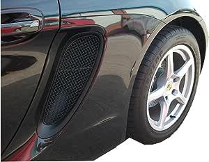 1996 /à 2004 Finition Noir Zunsport Compatible avec Porsche Boxster S 986 Ensemble calandre ext/érieur