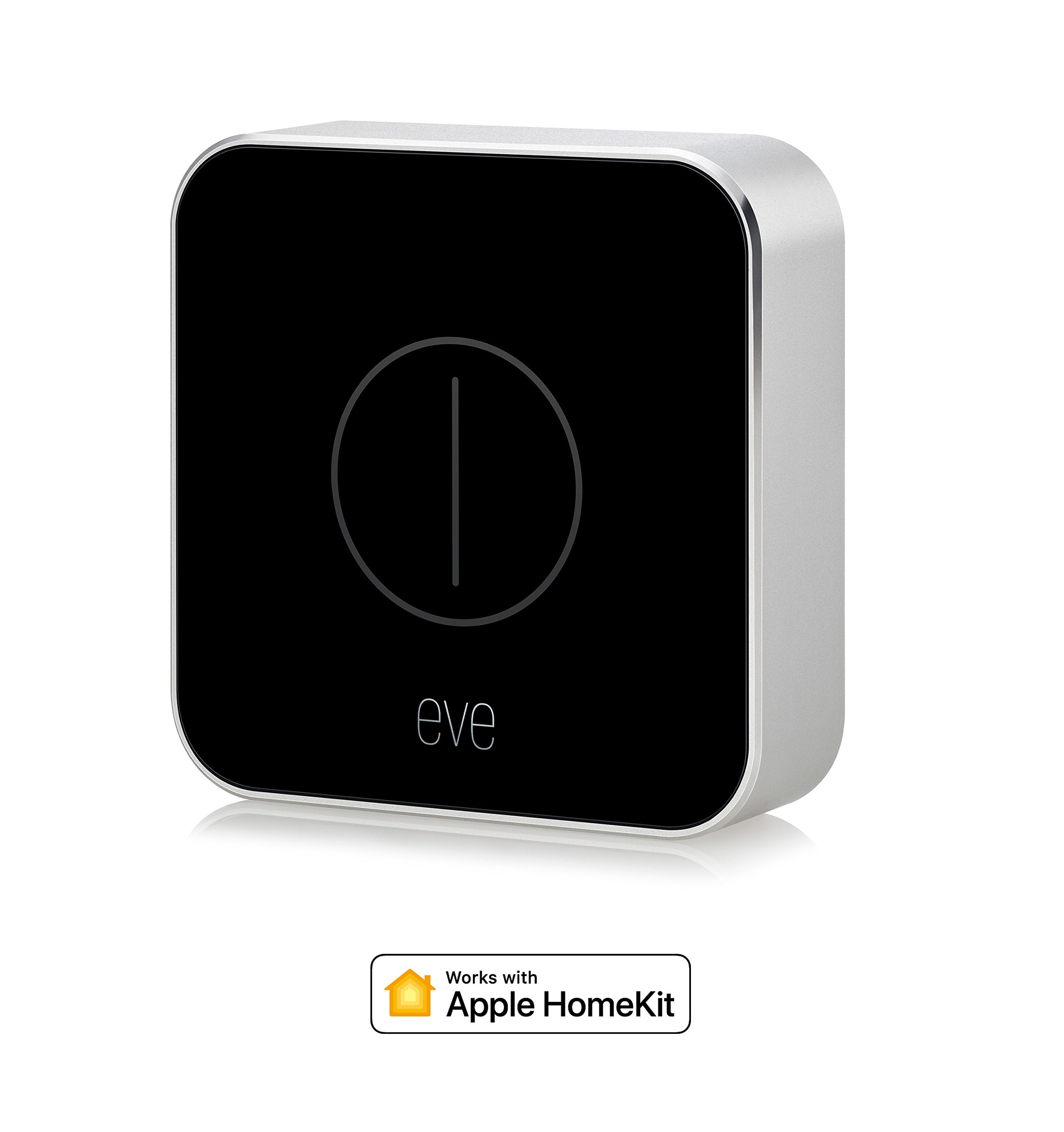 Eve Button – Télécommande pour Maison Connectée, Bluetooth Low Energy (Apple HomeKit)