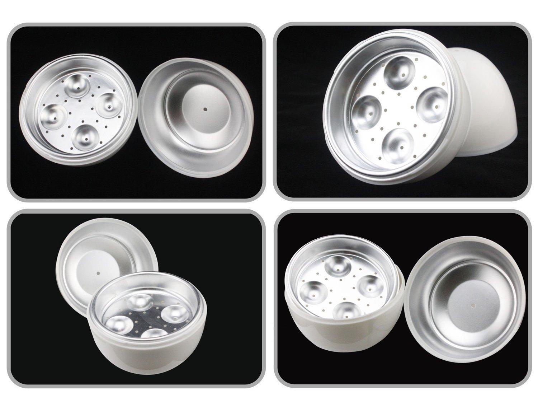 71xa7CFQrZL - Egg Boiler, Egg Cooker Easy 4 Eggs Microwave Boiler Rapid Egg Cooking Appliances