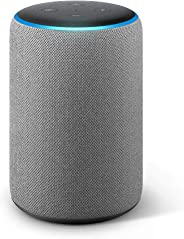 All-new Echo Plus (2nd gen) – Premium sound with a built-in smart home hub-Grey