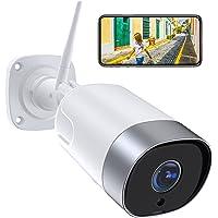 Supereye 1080P Telecamera Ip Esterno, Telecamera Wifi con Custodia in Metallo, Ip66 Impermeabile, Rilevazione di…