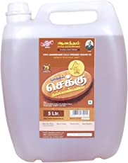 Anandham Cold-pressed (Chekku) Sesame/Gingelly Oil 5 Litre Can