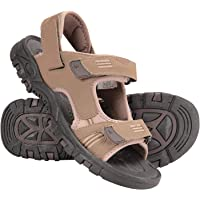 Mountain Warehouse Z4 Mens Sandals - Neoprene Lining Summer Shoes, Hook & Loop Strap, Phylon Midsole Beach Shoes, Suede…