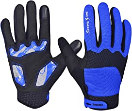 Kuuboo Touchscreen Handschuhe Outdoor Sporthandschuhe Winter Fahrradhandschuhe Winter kaltes Wetter winddicht mit Fingern