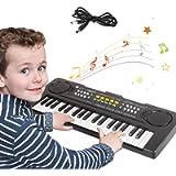 Tastiera Pianoforte Elettronica Bambini,37 Tasti Tastiera Musicale Portatile Pianola Multifunzione Mini Tastiera Music…