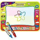 Doodle Mat,Tapis magique de griffonnage de l'eau avec des nuances de couleur arc-en-ciel, planche de tapis de dessin de l'eau