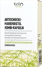 SCIO Artischocke-Mariendistel Kombi-Kapseln, 60 Stück