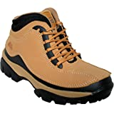MENS GROUNDWORK LEATHER UPPERS SMART/CASUAL LACE UP STEEL TOE CAP SAFETY BOOTS