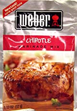 Weber Chipotle Marinade Mix 112 Oz Packets 4 Pack