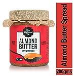 The Butternut Co. Almond Butter, Unsweetened, 200g