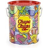 Chupa Chups Lecca Lecca Latta, Confezione da 150 Lollipop Monopezzo, Lollipop Gusti Assortiti, Fragola, Panna-Fragola…