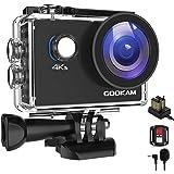 GOOKAM 4K Action Cam 20MP WiFi Telecomando Fotocamera Subacquea Impermeabile 40M Sott'Acqua Sports Camera Schermo 2 Pollici 1