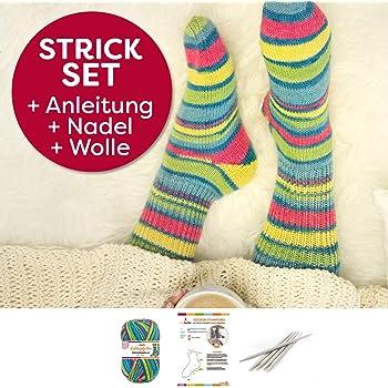 Myboshi Häkelset Socken Anleitung Häkelnadel Label 4x Wolle