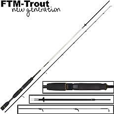 FTM Sniper 198cm 0-3,5g - Ultra Light Rute zum Forellenangeln, Angelrute zum leichten Spinnfischen auf Forelle, Forellenrute
