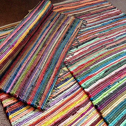 deluxe-large-medium-small-fair-trade-100-recycled-cotton-chindi-rug-multi-colour-70-x-140cm