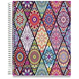 Tools4Wisdom 2018 Planner Diary with Stickers - 1 Week to View A4 Organiser with Calendar - Pages in Colour - Daily Weekly Monthly Yearly Agenda Book (Harry Potter Sneakoscope Inspired Art, Hardcover)