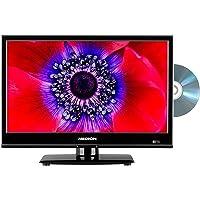 MEDION E11961 47 cm (18,5 Zoll) Fernseher (integrierter DVD-Player, HD Triple Tuner, CI+, 12V KFZ Car-Adapter…