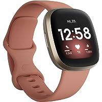 Fitbit Versa 3 - Gesundheits- & Fitness-Smartwatch mit GPS, kontinuierlicher Herzfrequenzmessung, Sprachassistent und…