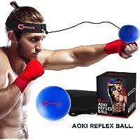 Champs MMA Boxing Reflex Ball - Équipement de Boxe Vitesse de Combat, équipement de bPunching Ball Idéal pour la Vitesse…
