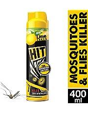 Godrej HIT Mosquito and Fly Killer Spray, Lime Fragrance, 400ml