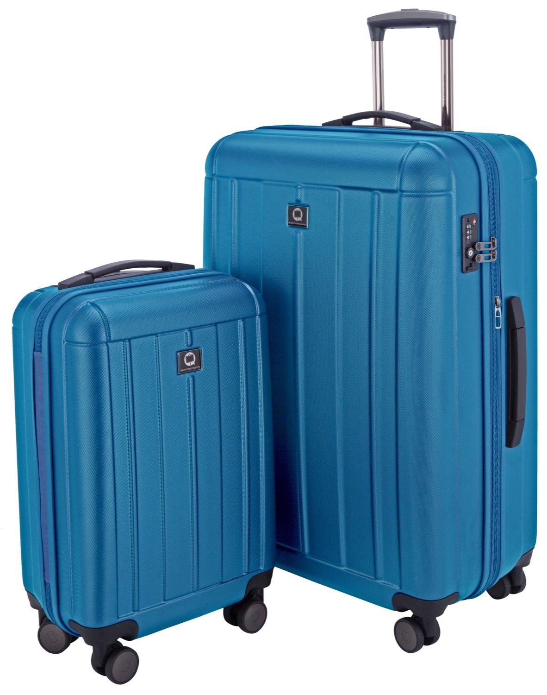 HAUPTSTADTKOFFER-Kotti-Trolley-Handgepck-XL-Koffer-2er-Koffer-Set-Rollkoffer-Reisekoffer-4-Doppel-Rollen-TSA-S-L-Matte-Oberflche