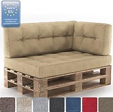 Farbvielfalt Palettensofa Palettenpolster Kissen Sofa Couch Polster Indoor Outdoor