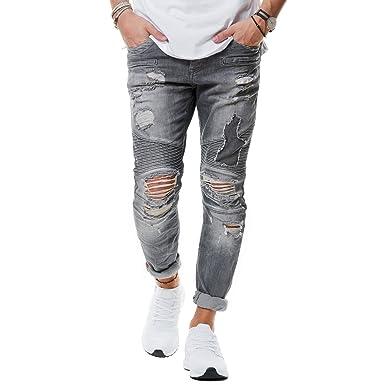 Jeans zerrissen herren