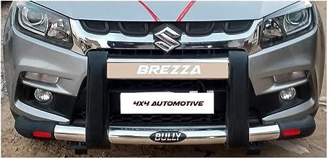 Bully Premium front bumper guard for maruti suzuki vitara brezza