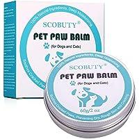 Pfotenbalsam Hund, Pfotenpflege Hund, Nasenpflege, Nasenbalsam für Hunde & Katzen für trockene Hundenasen, zur Reparatur…