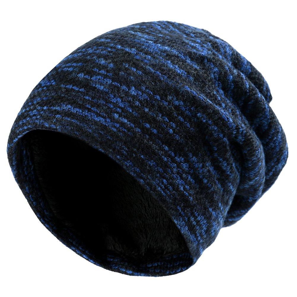 VBIGER Beanie Cappelli Invernali Berretti in Maglia Cappelli da Uomo e Donna a8f719323b63