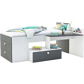 Demeyere Move Kombi Bett Mit Schreibtisch 90x200 Cm Spanplatte
