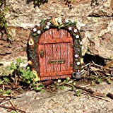Fairy door - ideal for gardens and bottom of trees / minature rustic door for elves pixies and fairies
