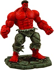 Marvel Select Red Hulk Action Figure, Multi Color