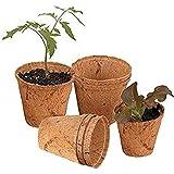 COIR GARDEN Seedling Pot , 6 x 3.5 x 5cm, 15 Pieces