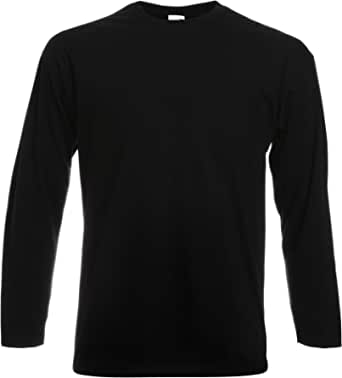 Fruit Of The Loom Men's Valueweight Long Sleeve Tee