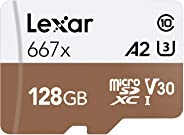 Lexar 128GB Professional 667x microSDXC UHS-I card -LSDMI128B667A
