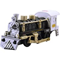 TOYMANIA Pull Back Super Locomotive STEAM Engine Train Toy for Kids. | Elegance Style and Very Realistic Looks.