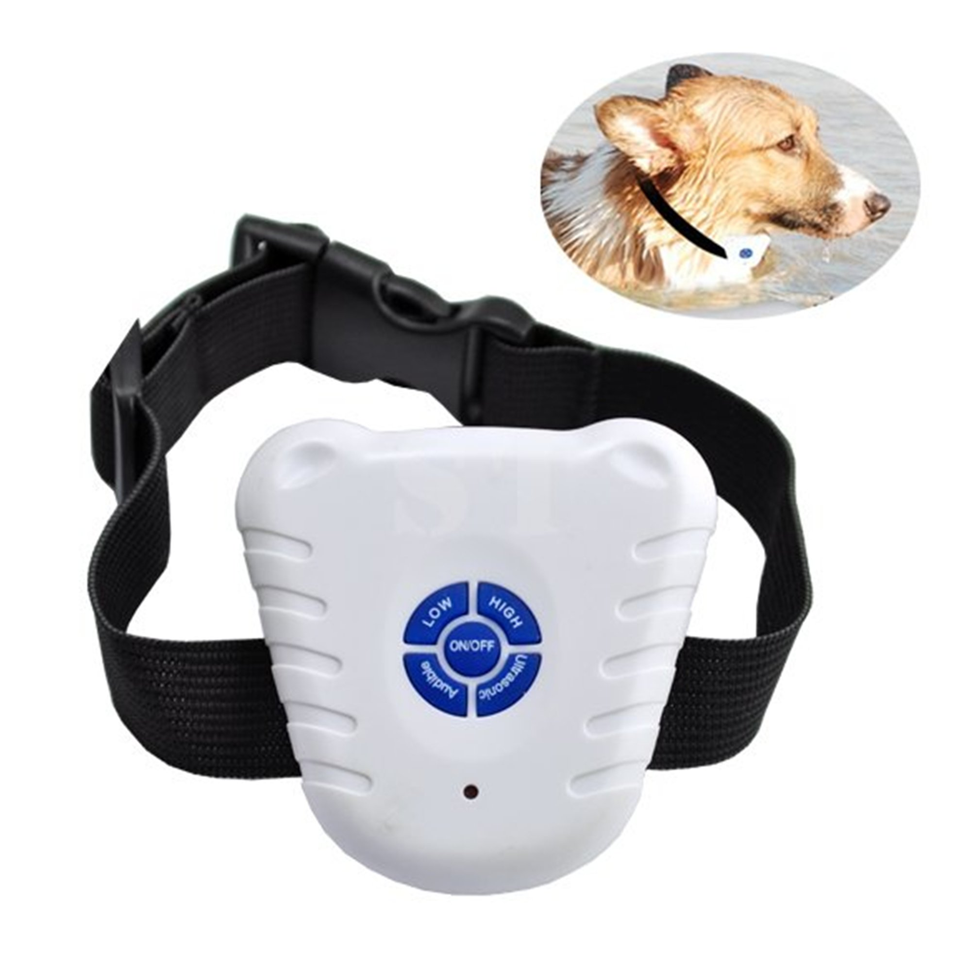 Ubesta Ultrasonic Dog Anti Bark Collar BarkStop / Reduce Barking