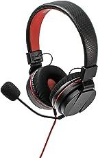 snakebyte Headset S Stereo zur Verwendung mit der Nintendo Switch Konsole [Nintendo Switch - PlayStation 4 - Xbox One - Nintendo Wii U - 3,5mm Audio Stecker]