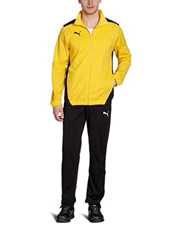 869965eb4 puma track jacket yellow on sale > OFF63% Discounts