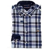 Spagnolo cm Cuello Boton Oxford 0025, Camisa Casual Para ...