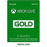 Xbox Live 6 Month Gold Membership [Xbox Live…