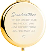 Grandma Gifts from Grandson Ideals Birthday Anniversaries Gift,Great Gifts Present forGrandma Grandmother (GOLD)