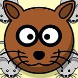 Die Maus Verse Katzen-Spiel Epic Battle für Käse