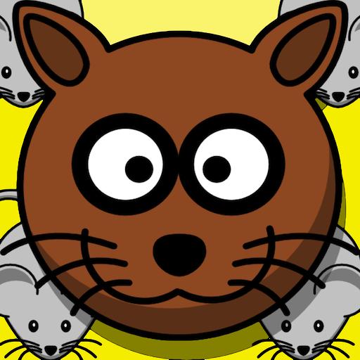 Die Maus Verse Katzen-Spiel Epic Battle für Käse (Laufen Für Käse)