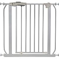 IB-Style - Cancello di sicurezza/Cancelletto securella MIKA | 75-175 cm | Auto-Close| 90° fissazione | metallo argento…