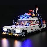 BRIKSMAX Led-verlichtingsset voor LEGO CreatorGhostbusters™ ECTO-1 - compatibel met Lego 10274 bouwstenen model - exclusief d