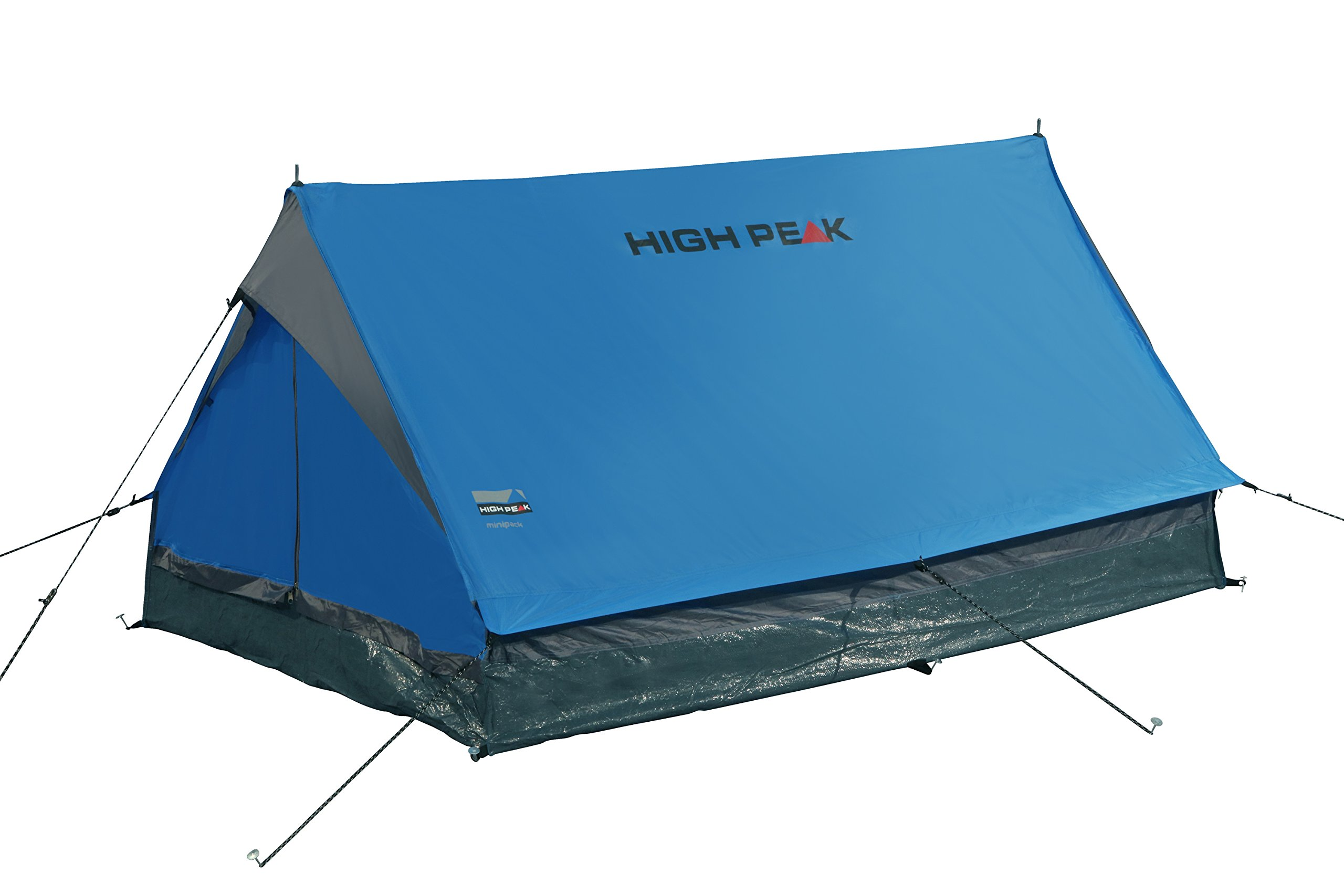 High Peak Unisex's Minipack Tents, Blue/Grey, One Size 2