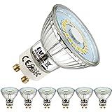 EACLL Ampoules LED GU10 Blanc Neutre Source de lumière 5W 4000K 495 Lumens, Équivalent incandescence halogène 50W. 120 ° Larg